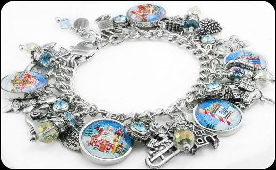 snowman-jewelry-christmas-bracelet-handmade-charm-bracelet