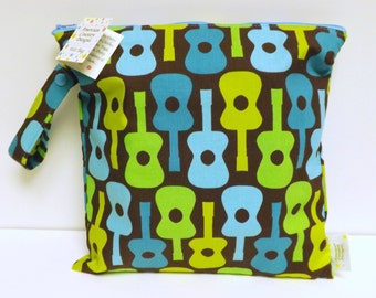 Small Wet Bag - Wet Bag - 11 X 11 - Groovy Guitars