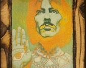 George Harrison - The Beatles - Wooden Plaque