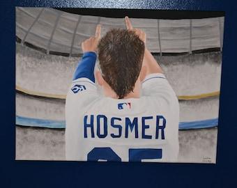 Eric Hosmer Kansas City Royals Painting