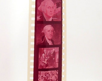 2 Vintage Educational Filmstrips - Power of the Presidency - Politics - Government - 35mm film - film strips - US History