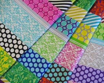 Echino 2013 Fall Decoro Fabric by Etsuko Furuya - Pipi Stripe 4 Fat Quarter Bundle