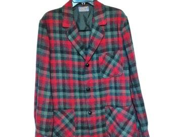 Vintage  Mens Pendleton Jacket Size M 50s