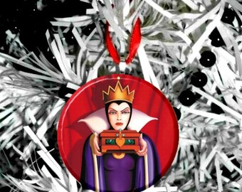 Snow White Evil Queen Christmas Tree Ornament