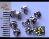 Pendant Bails, Glue In Bails, Glue on Bails, Copper Bails, Silver Bails, Copper Findings, Gold Bails, Jewelry Supplies, Pendant Parts