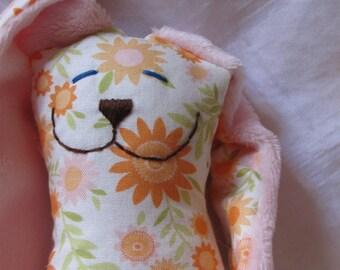 Small Wildflower Snuggle Bunny