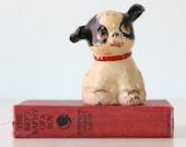 Vintage Dog Bank, Fido by Hubley, Patent 1914