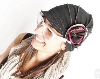 Hat for woman Fashion hat Cloche hat Women accessories Woman flapper Stylish handmade hat cozy cap cotton handmade hat Cotton hat for women