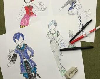 Custom Sketch