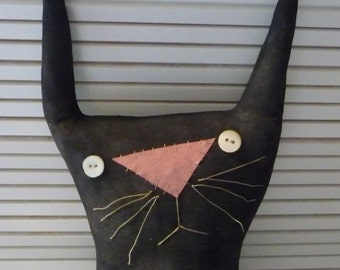 Primitive bunny rabbit Easter egg doll