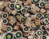 "Handmade Murrini Chips COE 104 For Lampwork Artists ""Nantucket"" by Solaris Beads MB07"