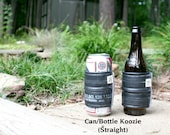 New choices! Recycled bike tubes and sweater koozies. Bottles or cans, pint glasses or coffee cups!