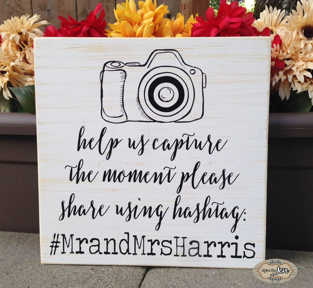 Spanish Wedding Hashtags: Wedding Hashtag Sign Help Us Capture The Moment By SignsbyJen