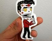 Morrissey Calavera Die Cut Vinyl Sticker