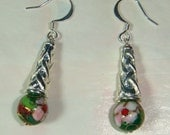 Cloisonne Dangle Earrings inv682