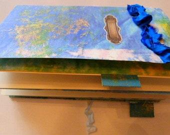 Journal, notebook, handmade from geli prints
