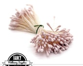 Matte - Soft Cashmere Pink - Bisque - Millinery Stamen - Flowers - Bridal