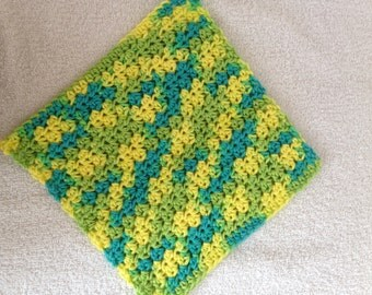 Crochet Dishcloth-Summer Splash