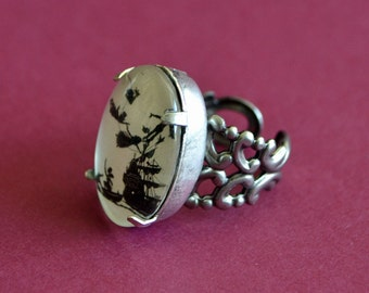 Sale 20% Off // PETER PAN Ring - Silhouette Jewelry // Coupon Code SALE20