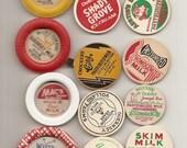 61 DIFFERENT Old MILK Caps - DAIRY , Juice, Etc.