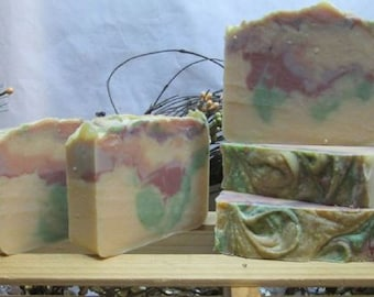 Goats Milk Autumn on the County Line Cold Process soap