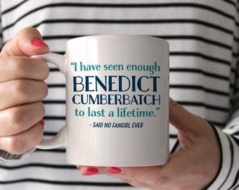Fangirl Coffee Mug - Benedict Cumberbatch - funny coffee mug