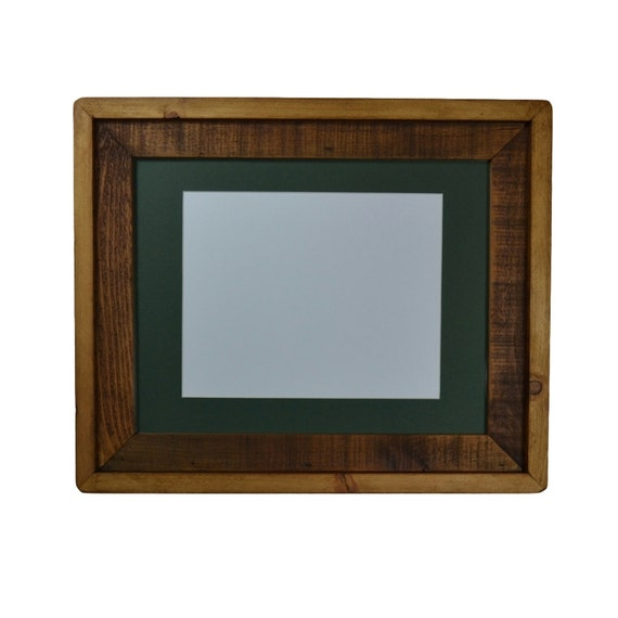 recycled wood frame 11x14 with mat for 8x10 photo by barnwood4u. Black Bedroom Furniture Sets. Home Design Ideas