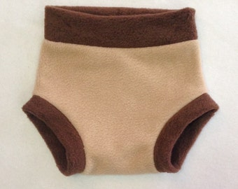 Diaper Cover --- Two Tone Anti Pill Fleece