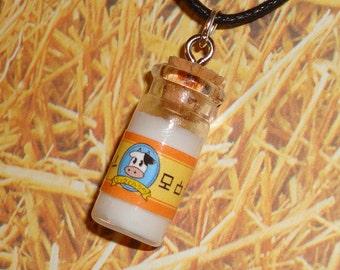 Legend of Zelda - LonLon Milk Bottle Necklace