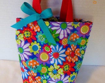 Fresh Flowers Tote/Gift Bag