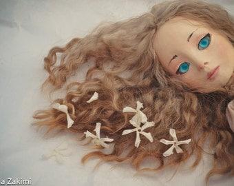 Blue, art doll-2014, Art doll by Paola Zakimi