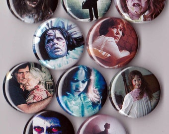 10 Exorcist Pinback Buttons