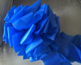Big Blue Bow to show Support for Our Policemen 6""