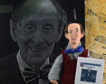 Vladimir Horowitz Music History Art Doll Miniature Composer