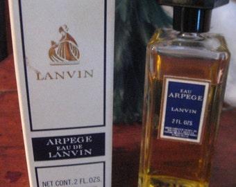 Vintage 1960s ARPEGE By LANVIN In Box