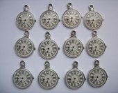 6 Pocket Watch Charms