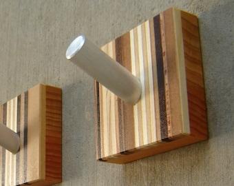 Wall Hook - Decorative - Modern Wall Hook - With Metal Peg