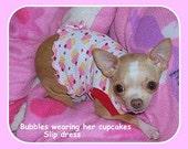 Pet Clothing  Chihuahua Tank Slip Dress To Order