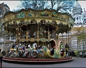 Reserved for Gina Rose:Carousel at Sacré-Coeur de Montmartre, Paris