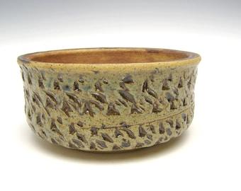 succulent planter ceramic pottery cactus planter handmade turquoise green rust bonsai planter herb plant pot  6 x 2 3/ 4 scp25