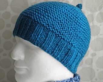 Knitting Patterns For Beanies With Straight Needles : EASY BEANIE KNITTING PATTERN STRAIGHT NEEDLES   KNITTING ...