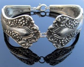 Spoon Bracelet Vintage Grape