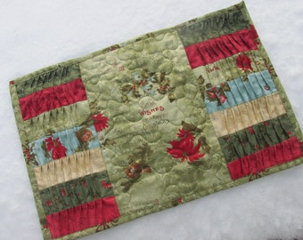 Twist and Turn Christmas placemats