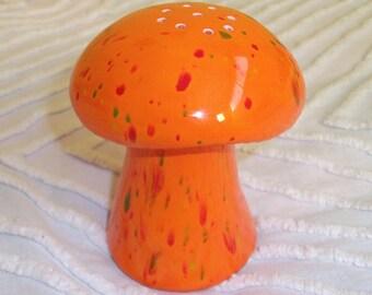 Vintage Ceramic Kitchen Mushroom Dispenser Retro Kitchenware