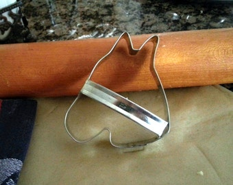 Horse Head Cookie Cutter Tin with Custom Handle Handmade By West Tinworks