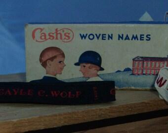 vintage name trim- gayle