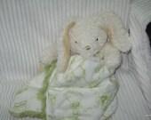 Security Blanket, baby blanket, luvie, Bunny Rabbit - Lovems