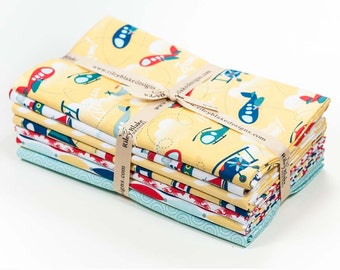 SALE!!  Fly Aweigh by Samantha Walker,  Yard Bundle Yellow - 7 total