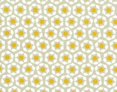 Cotton + Steel Moonlit yellow geometric fabric by Rashida Coleman-Hale