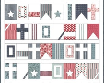 Boathouse Flags - Download Pattern